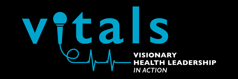 VITALS logo in blue