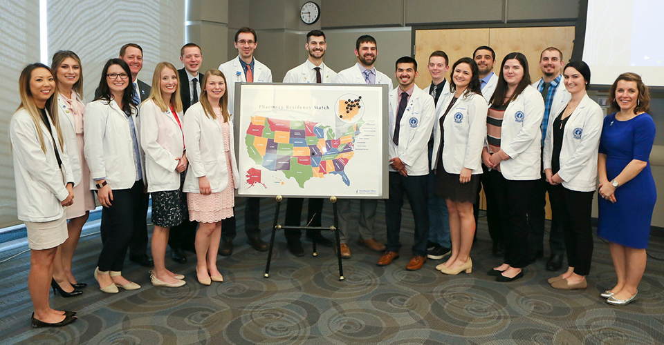 2019 Pharmacy Residency Match Group Photo