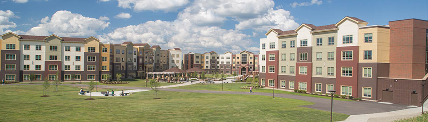 The Village, NEOMED's on-campus housing