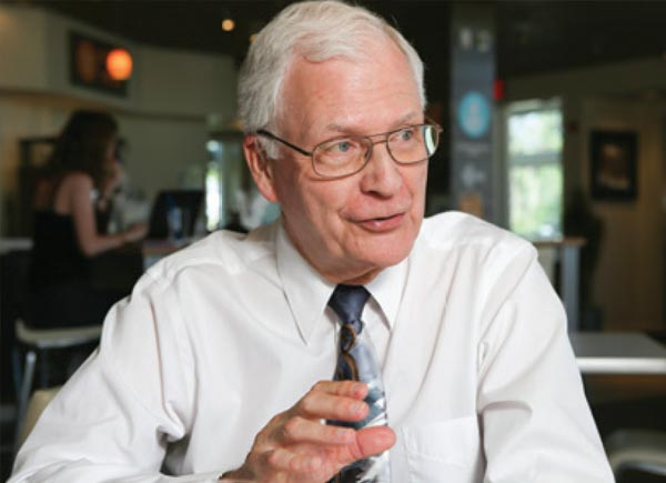 C. William Keck, M.D., lifetime achievement award winner