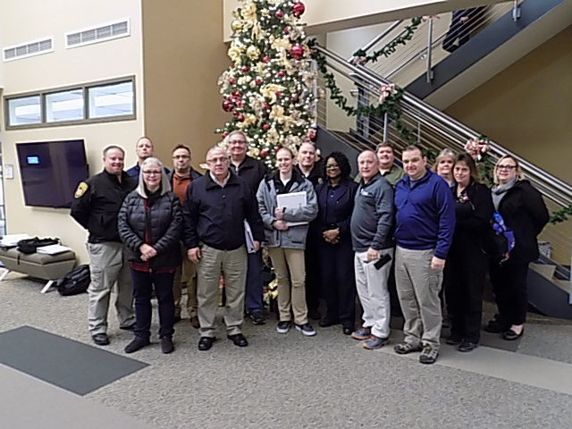 December 4,, 2018 Dispatcher/Call-Taker Training of CIT Trainers Participants