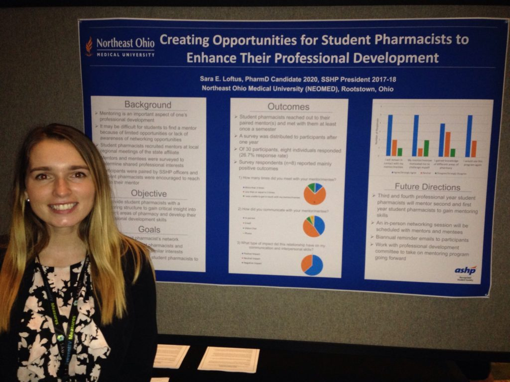 Sara Loftus at Orlando Pharmacy meeting.