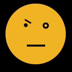 Agitation face