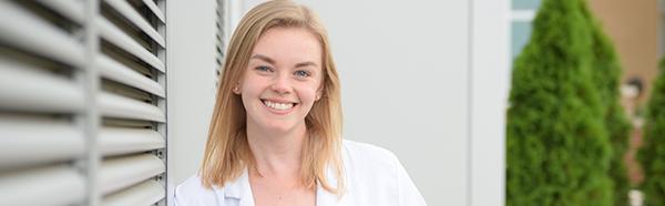Erinn Coe, medicine student