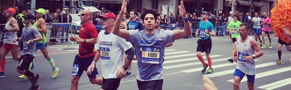 Vinnie Peyko running race