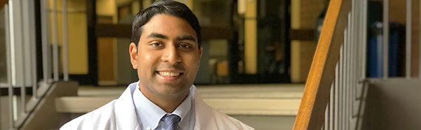 Kevin Adik, College of Medicine student
