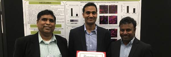 Charles Thodeti, Ph.D, Anantha Kanugula, Ph.D and Ravi Adapala, Ph.D.