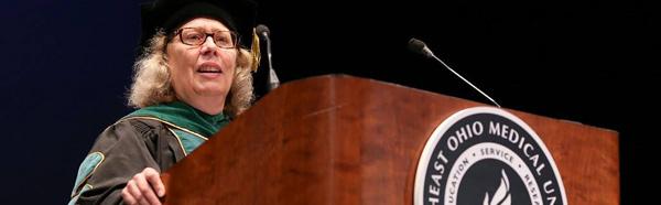 Dr. Claire Pomeroy, 2017 commencement speaker