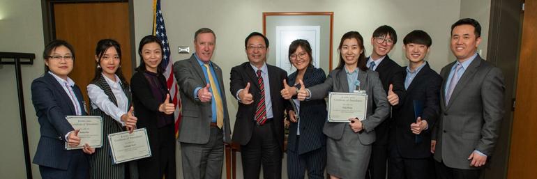 Anhui Medical University Visitors with Dr. Kasmer
