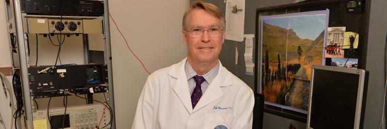 Jeffrey Wenstrup, Ph.D., professor of anatomy and neurobiology