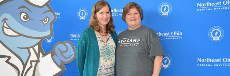 Bethany Yeiser and Patricia Thornborough, M.S. ED