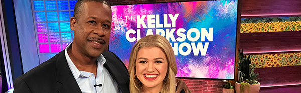 Carl Allamby, M.D. ('19), on The Kelly Clarkson Show