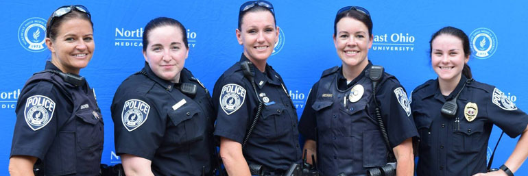 NEOMED female police officers