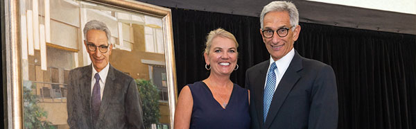Dr. Gershen with his wife, Carol