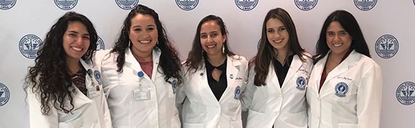 Group of Latino Medical Student Association students