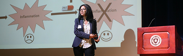 Nashrah Ahmad, Biomedical Sciences Ph.D. student