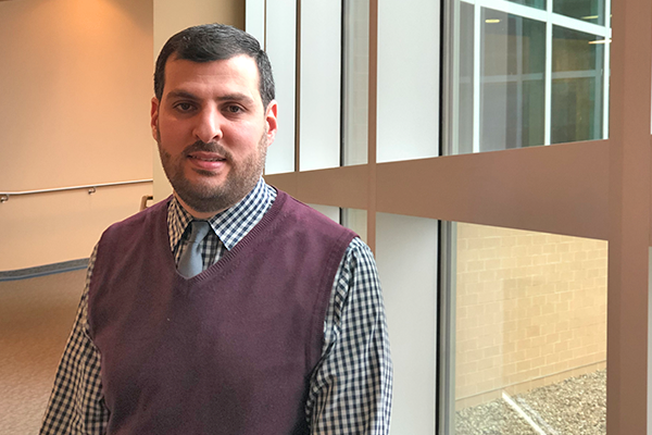 Nazar Hussein, Biomedical Sciences student