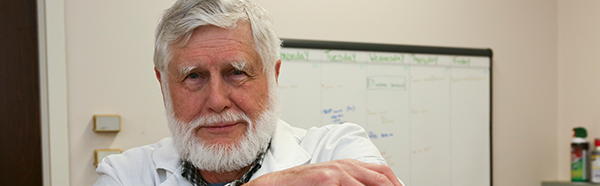 Gary Niehaus, Ph.D., professor of physiology