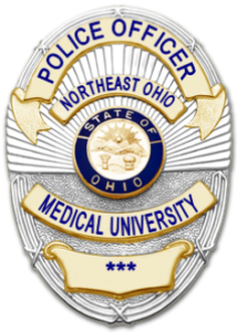 NEOMED Police badge