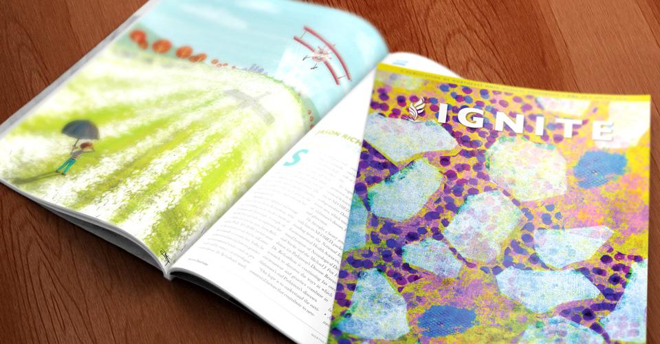 NEOMED's ignite magazine at