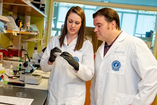 Emily Plyler and Sam Crish, Ph.D.
