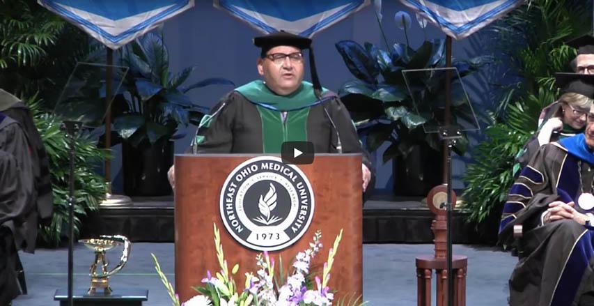 Dr. Akram Boutros, Commencement speaker video