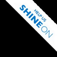 Help Us Shine On ribbon